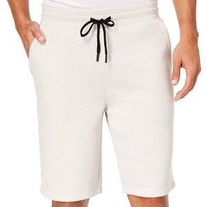 32 DEGREES Men's Fleece Tech Shorts, Sea Salt